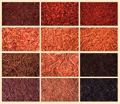 Mulch colors we carry